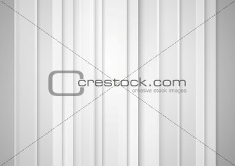 Abstract grey minimal striped tech background