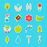 Gardening Spring Stickers