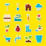 Spring Gardening Stickers