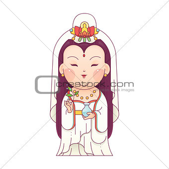 Guanyin Goddess of Mercy