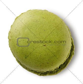 Green pistachio macaron