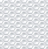 Seamless 3d hexagons pattern.