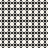 Vector Seamless Pattern. Abstract Geometric Background Design. Stylish Lattice Texture