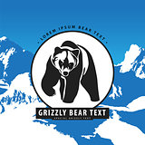 Bear in the mountains logo