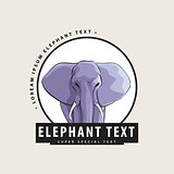 Logo with an elephant for you