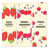 Fresh fruit cards
