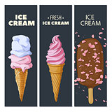 Ice cream cards