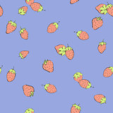 seamless strawberry background