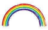 Vector grunge rainbow
