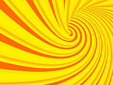 colorful abstract 3d illustration spiral background