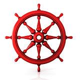 Ship wheel 3D