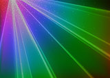 Colorful Disco Light Background