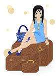 girl traveler
