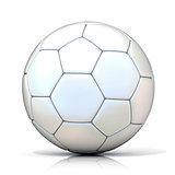 White football - soccer ball