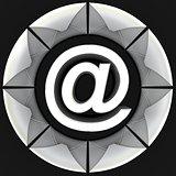 E-mail concept 3D