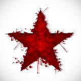 Bloody star - ink
