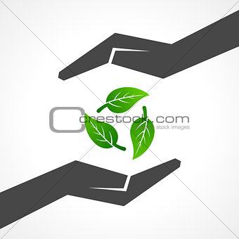 save nature concept