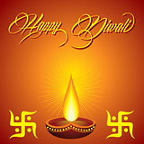 Diwali greeting background