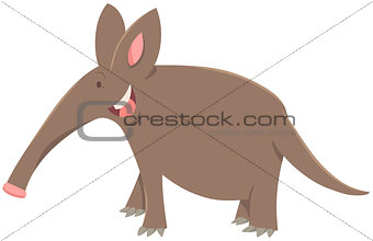 cartoon aardvark animal character