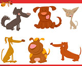 cute dogs cartoon characters