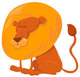 lion cartoon animal character