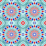 Vector Seamless Mosaic Pattern