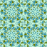 Vector Seamless Mosaic Pattern. Traditional Maroccan Style