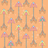 Vector seamless colorful ethnic pattern with arrows - pattern