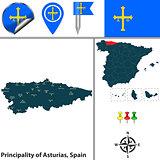 Principality of Asturias, Spain