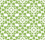 Greenery leaf ornament seamless pattern background