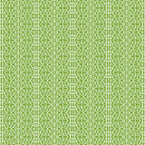 Ornament on greenery seamless pattern background