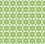 Greenery leaf ornament, floral seamless pattern