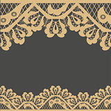 Abstract frame vector pattern background