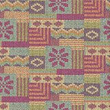 Scandinavian wool knitted seamless pattern