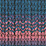 Knitting pattern, seamless fabric wool texture