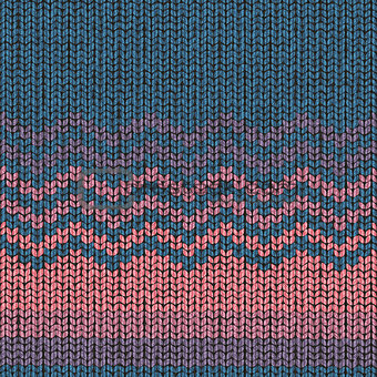 Knitting pattern, seamless fabric wool texture