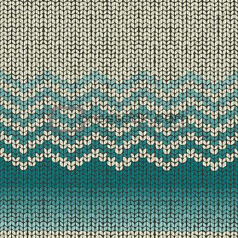 Knitting wool pattern, seamless fabric textile