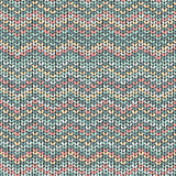 Knit zigzag pattern, traditional nordic texture