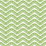 Greenery chevron seamless pattern background