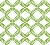 Greenery eco rhombus seamless pattern background