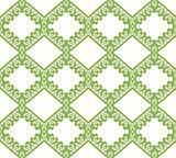 Greenery eco rhombus seamless pattern background