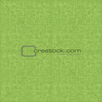 Green sack fabric textile, seamless pattern vector