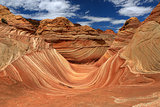 The Wave Navajo Sand Formation in Arizona USA