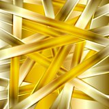 Bright golden abstract stripes background