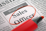 We are Hiring Sales Officer. 3d.