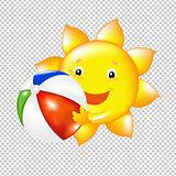 Sun With Ball