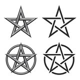 Pentagram Symbol Collection