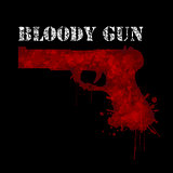 Bloody gun-Weapon