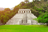 Temple of the Inscriptions, Palenque, Chiapas, Mexico