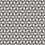 Vector Seamless Pattern. Abstract Geometric Background Design. Stylish Lattice Texture